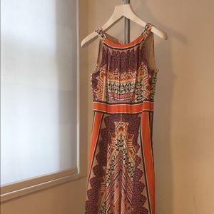 Chico's Full Length Maxi Dress, Like New! Size 0